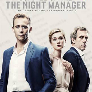 The Night Manager by John le Carre TV tie-in cover Hugh Laurie Tom Hiddleston Elizabeth Debicki