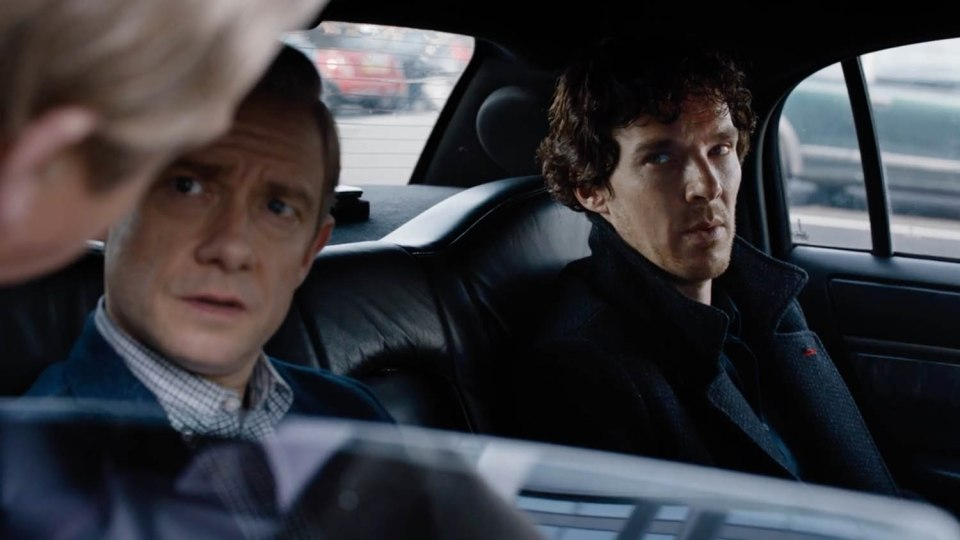 Sherlock The Lying Detective Scene
