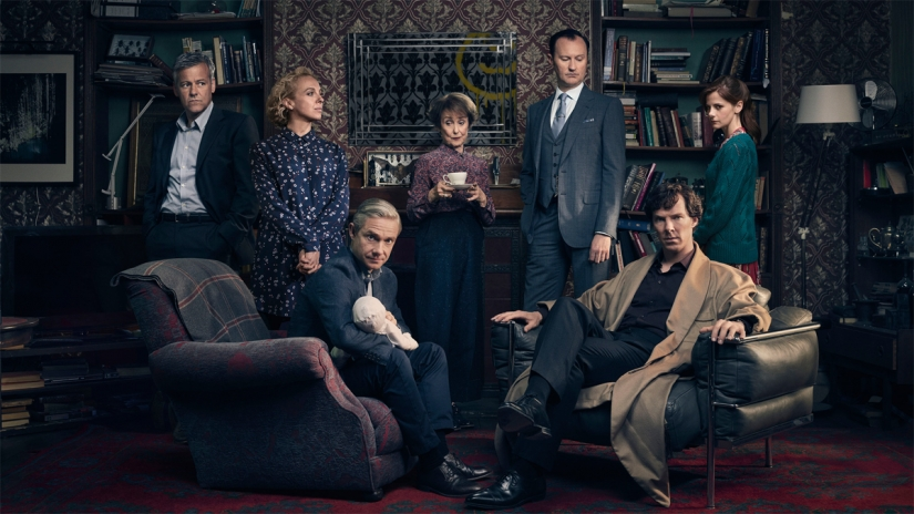 Sherlock Season 4 Episode 1 Cast photo
